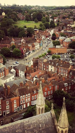 Cityscape View from Worcester Cathedral England 🌹 Georgian Architecture Eyeem Market Exceptional Photographs Architecture EyeEm Best Edits Vintage Photography