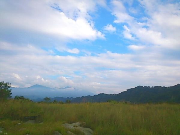 Clouds And Sky Mountains Tyan
