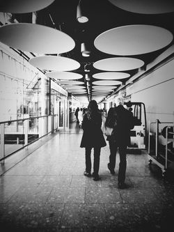 Departure Point Andrographer Blackandwhite Airport Londononly