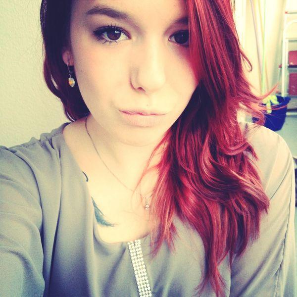 Red Hair Self Portrait Love