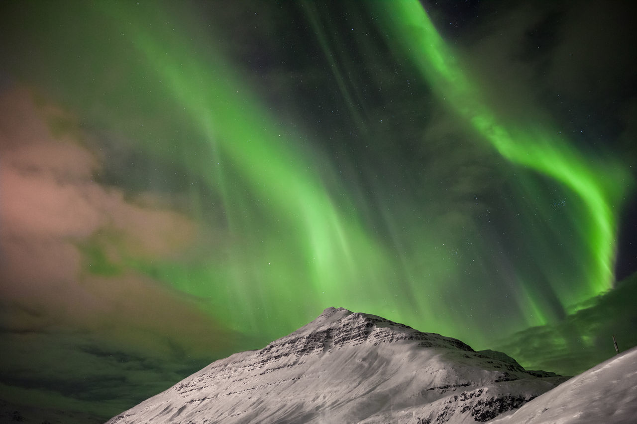 Astronomy,  Aurora Borealis,  Awe,  Beauty In Nature,  Cold Temperature