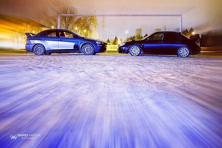 Evo Subaru Rallycar EvoX STI Becauseracecar Cars Carporn Snow