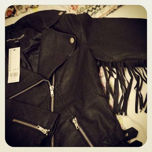 Hmmm Fringed Tassels Leather Biker Fashion Yayornay Warehouse Bargain Whatwasithinking
