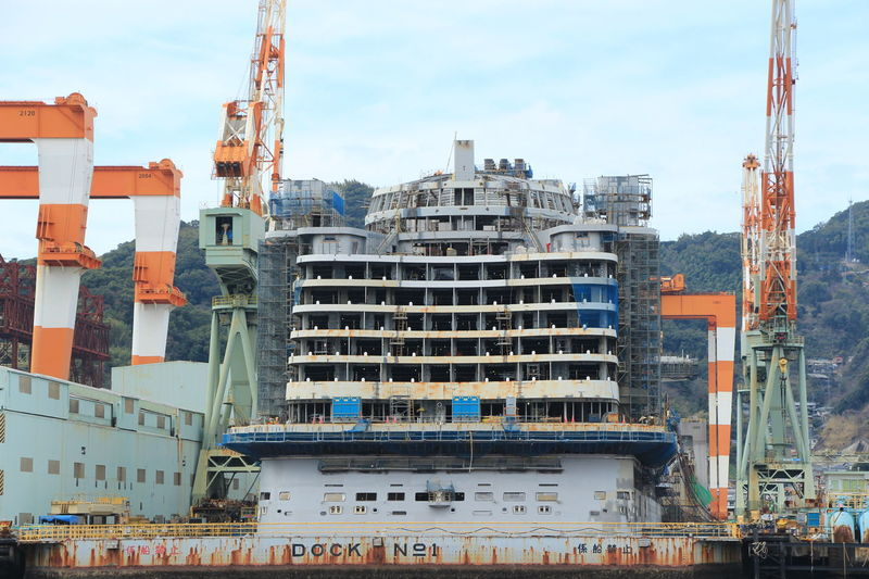 Nagasaki My Memories Sea Shipbuilding Dock Luxury Hi! Ship Hello World Japan Industrial Landscapes