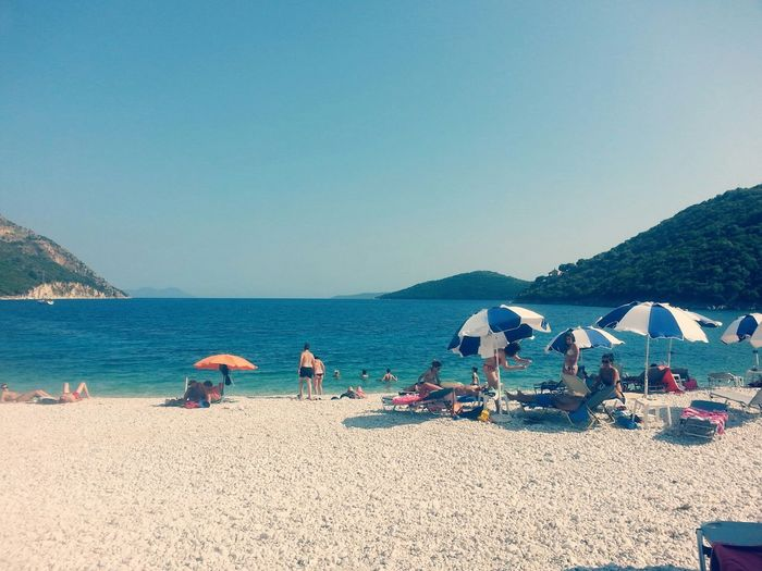 Relaxing Sunshine Enjoying The Sun Lefkada Summer2015 Poroslefkada