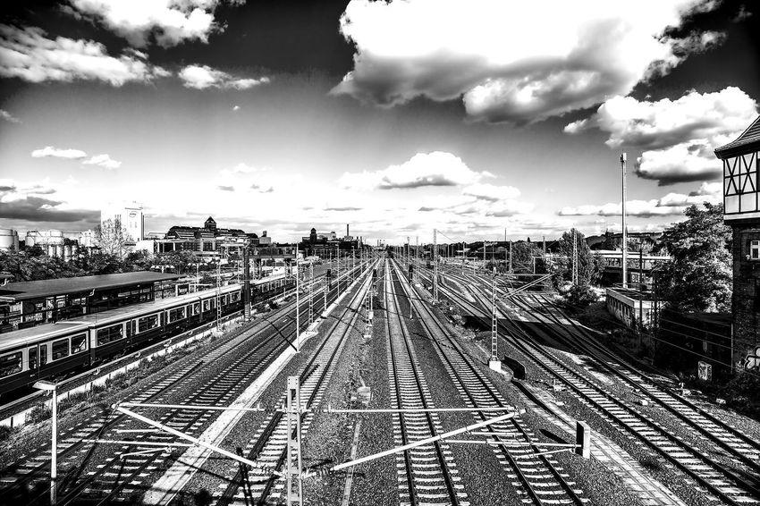 S-Bahn Beusselstr. , Berlin Bahngleise Bahnanlage No People Public Transportation Rail Transportation Railroad Track Spoor Trainline Transportation