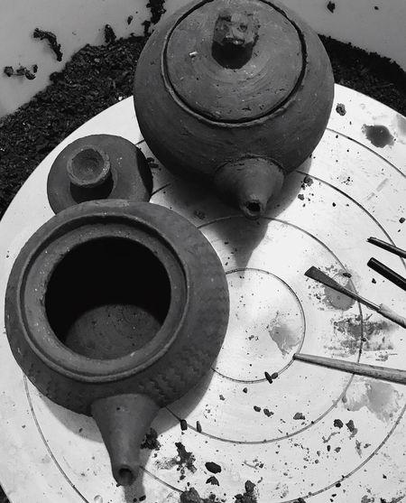 Spouts,lids, still missing handles... Pottery The Week On EyeEm