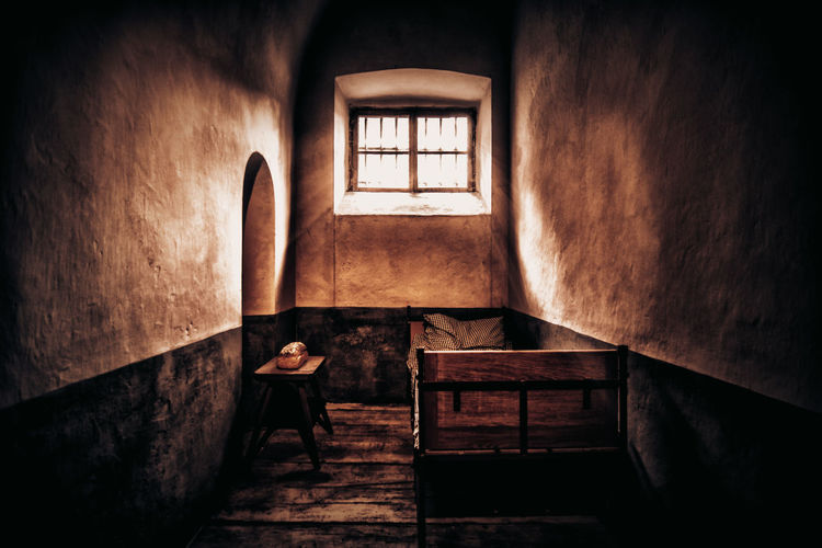 Abandoned Day Domestic Room Home Interior Indoors  No People Staircase Still Life Window