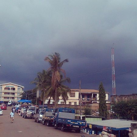 Krofrom Kumasi . Igers Instaaday Cloudy strange clouds