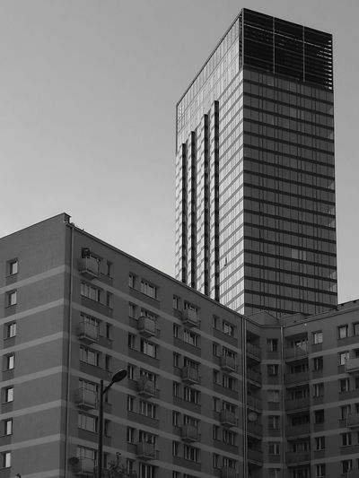 Architecture Building Exterior Skyscraper Built Structure Modern City Day Business No People Poland Warsaw Architecture Cosmopolitan