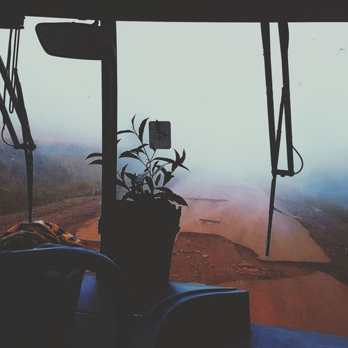 Transportation Mode Of Transport Window Land Vehicle Sky One Person Only Men Day Indoors  People Nature Water Frosted Glass Close-up Vehicle Mirror Mambilla Plateau Northern Nigeria