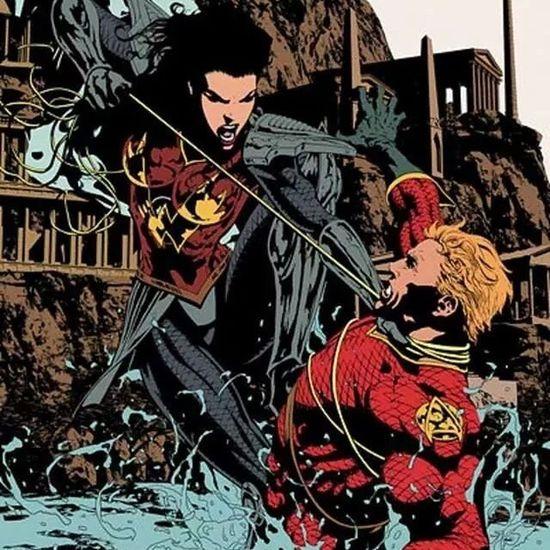 Wonderwoman Vs Aquaman from Flashpoint