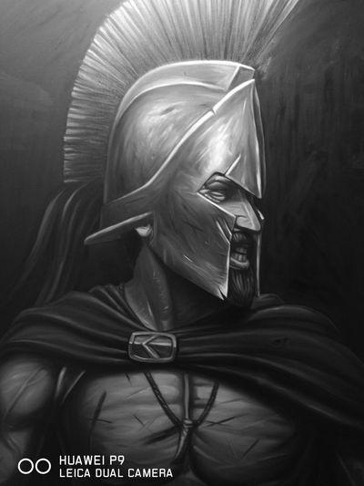 Leonidas y 299 mas contra el mundo!!