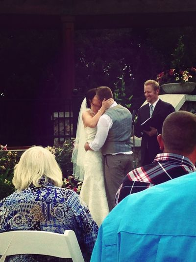 Congratulations Mr. and Mrs. Grey
