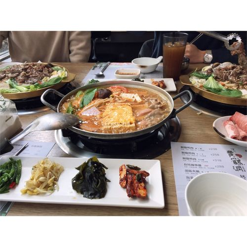 Taiwan 黃鶴洞 台中 韓式料理 Korea Korean Food South Korea