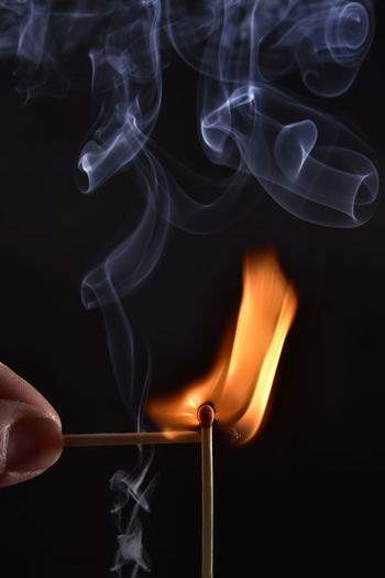 Photo shoot with matchstiks Lighting matches and playing with light and smoke Burning Flame Black Background Burning Close-up Finger Fire Fire - Natural Phenomenon Fire And Flames Flame Flames & Fire Glowing Hand Heat - Temperature Human Body Part Human Hand Indoors  Matchstick Motion Nature One Person Orange Color Smoke - Physical Structure Studio Shot Unrecognizable Person The Still Life Photographer - 2018 EyeEm Awards