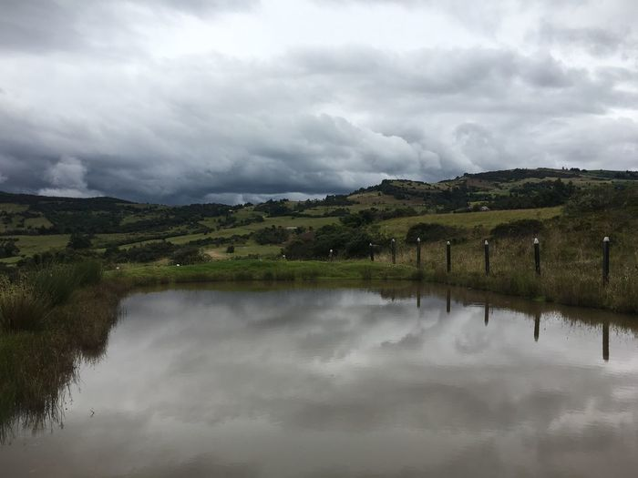 Cloud - Sky Nature No People Water Tranquility Mountain Colombia