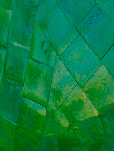 Green Tiled Wall Abstract Backgrounds My Year My View Close-up Day Design Detail Full Frame Geometric Architecture Geometric Shape Greeens Green Green Color Marble Multi Colored No People Pattern Patterns Repetition Tile Tiles Walls Fine Art Photography Fine Art Pivotal Ideas