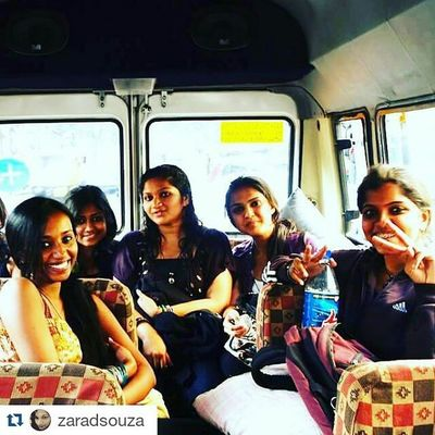"Repost @zaradsouza with @repostapp ・・・ This pic was taken on the way to a Fireflies Music Festival . These strong Women are my universe and my wheel of Life ! ""Beautiful souls spinning separately in perfect harmony"" This to me is Excellence at work! Love Beauty Friends Travel Art J2E Mciindiakickoff @mciindialive"