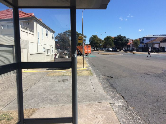 Bus Stop Northbondi Bondi Beach Sydney Australia Enjoy