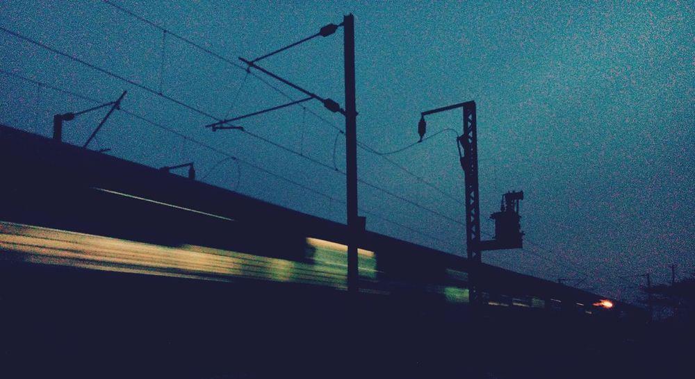 Life Run Train Light Night Lights