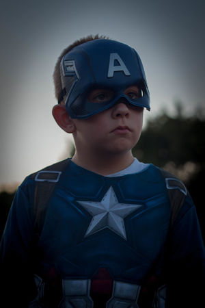 One Boy Only Child Headwear Portrait Childhood Front View One Person Headshot Confidence  Close-up Outdoors Comic Art Comic Heroes Captainmerica Captainamericacivilwar Dramatic Sky Son Human Face
