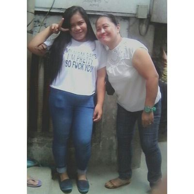 Ayaw'g palag sakong Mama. ♥ P.S Sorry for the low quality picture. XD POTD