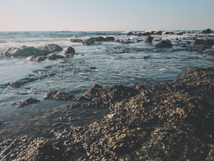 The Coast of Gods I Sea Nature Water Beauty In Nature Horizon Over Water Wave Clear Sky Scenics Outdoors Beach Coastline Rock - Object Sky Rock Formation Day Tranquility No People Finding New Frontiers