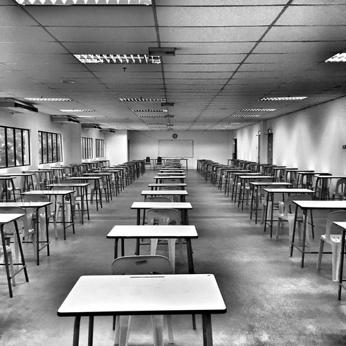 Nervous Hall Collegelife Examination Season Live To Learn