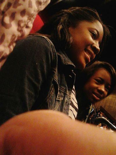 macila and tht girl