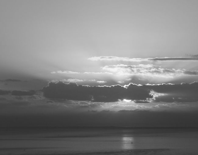 The sunshine from my varanda in Maputo. EyeEmNewHere Beauty In Nature Black And White Blackandwhite Cloud - Sky Day Great Sunshine Horizon Horizon Over Water Idyllic Nature No People Outdoors Reflection Scenics - Nature Sea Sky Sunlight Sunny Day Tranquil Scene Tranquility Water Waterfront