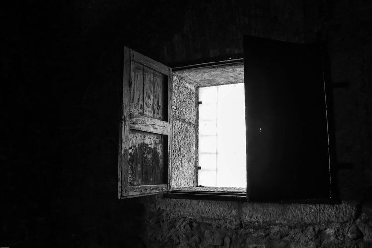 Montefusco Avellino Carcere Borbonico BW_photography Finestra Architecture Built Structure No People Building Window Wall - Building Feature Indoors