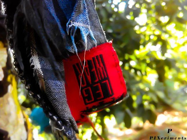Junk Art Close-up Red Hanging Outdoors Mobilephotography Samsungj1camera Overedit