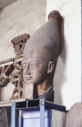 Ancient Civilization Art Art And Craft ArtWork Close-up Crativity Creativity Egypt Egyptian Museum Egyptology HEAD Human Representation Pharahos Statue Sculpture Statue Statue Statues Stone