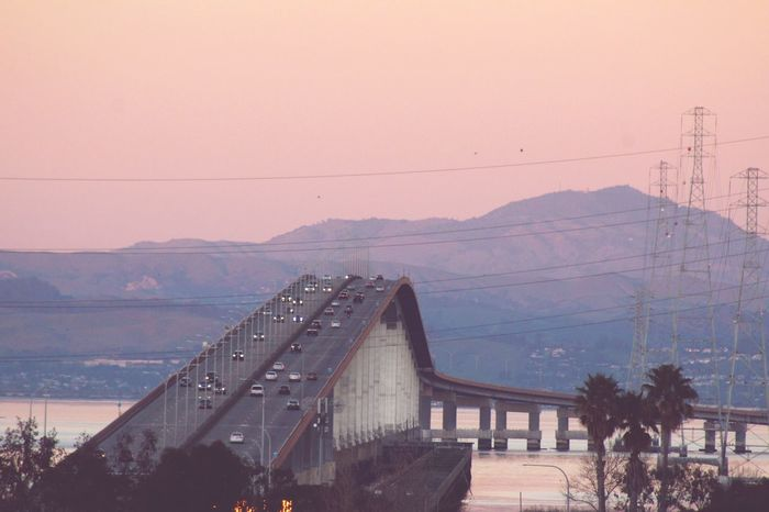 San Mateo Bridge ;East Bay Hills ;Bridge