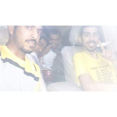 Me and my friends Jnon Car KSA Jeddah Riyadh fahd friends in_the_way in_the_road الرياض السعودية جده جينيسس الطايف العيال صور عرب_فوتو جنون سيارة