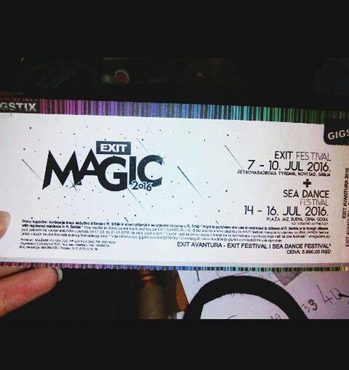 EXIT Festival Sea Dance Novi Sad , Budva Exit Magic 2016