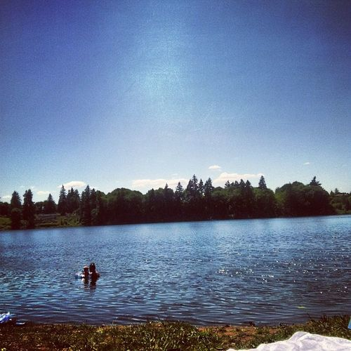 Enjoying the day PNW Sunny Water