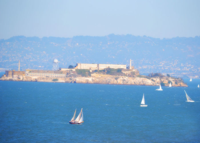 Alcatraz Alcatraz Island Alcatraz Prison Day Outdoors Prison San Fransico Sky