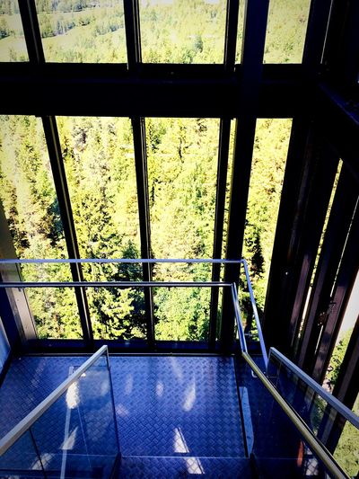 At An Exhibition Nature Taking Photos Architecture Stairs Panoramic Rails Outdoors Outlook