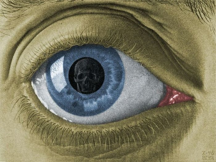 The eye. Mauritscorneliusescher Art Artist Paint Painting Check This Out