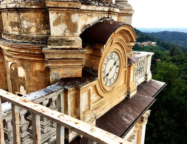 Time Clock Clock Tower Old Buildings Old-fashioned EyeEm Best Shots IPhoneography Church Turin Italy Showcase July