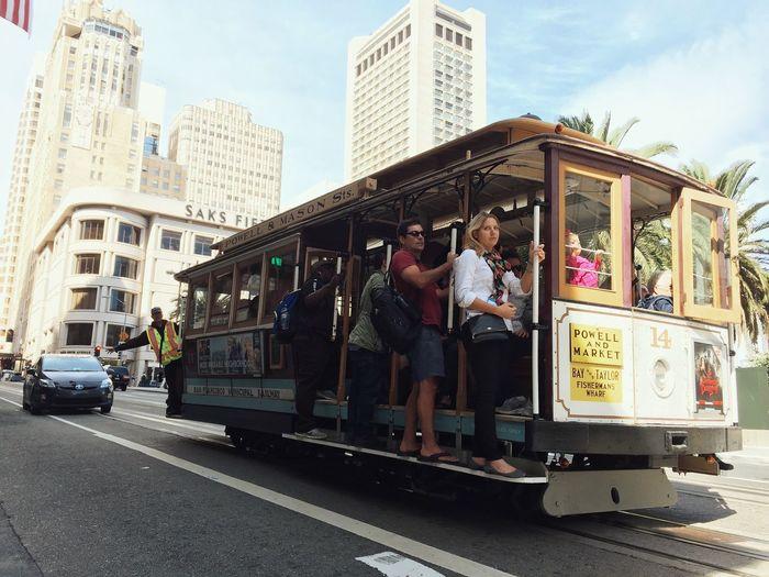 obligatory tram pic Vscocam San Francisco Tram