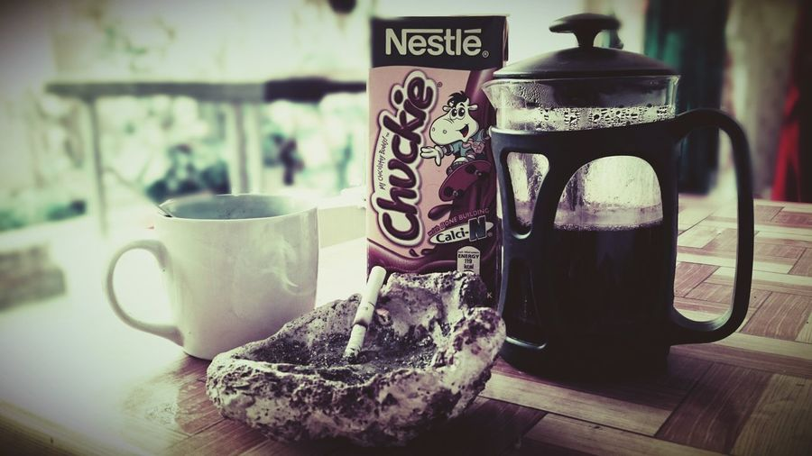 Coffee And Cigarettes Yosibreak Chuckie Milk Beach Life Philippines Relaxing Coffee At Home Island Life Boracay