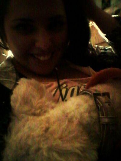 con mi ratona mía :)