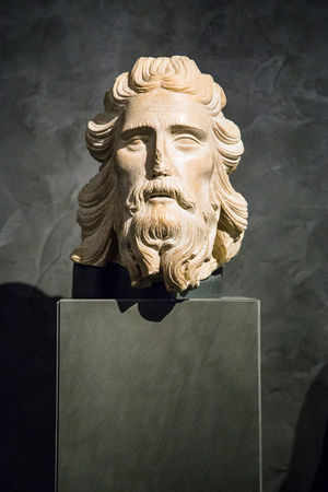 Representation Art And Craft Sculpture Statue Human Representation History Male Likeness Close-up Creativity The Past Craft No People Architecture Beard Indoors  Memorial Day Wall - Building Feature Carving Opera Museum Florence Florence Cathedral Florence Churces Museum Of Art