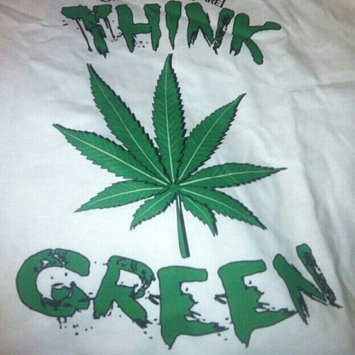 Whether It's Money Or The Weed, Always Think Green