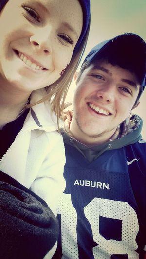 From the Auburn Arkansas game♥