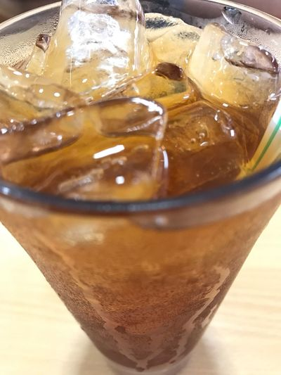 Refreshment Drink Cold Temperature Freshness Close-up Icedtea Icedteaglass