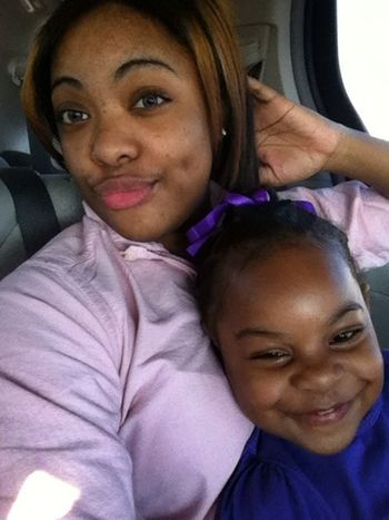 Me n my niece so gorgeous!!!